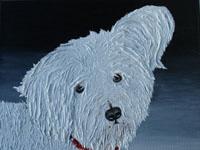 Bobby, 2006 (olieverf, 30 x 30 cm)