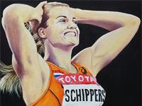 Dafne Schippers, WK 200 meter