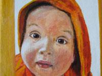 Karst, 2008 (acryl, 13 x 18 cm)