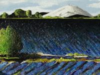 Mont Ventoux, 2007 (olie, 50 x 20 cm)