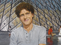 Rutger @ Louvre, 2011