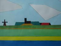 Wanswerd modern, 2005 (waterverf, 30 x 20 cm)